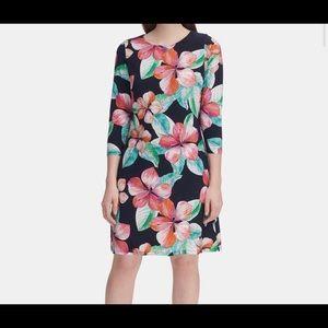 Tommy Hilfiger Floral Print Jersey Dress Size 14